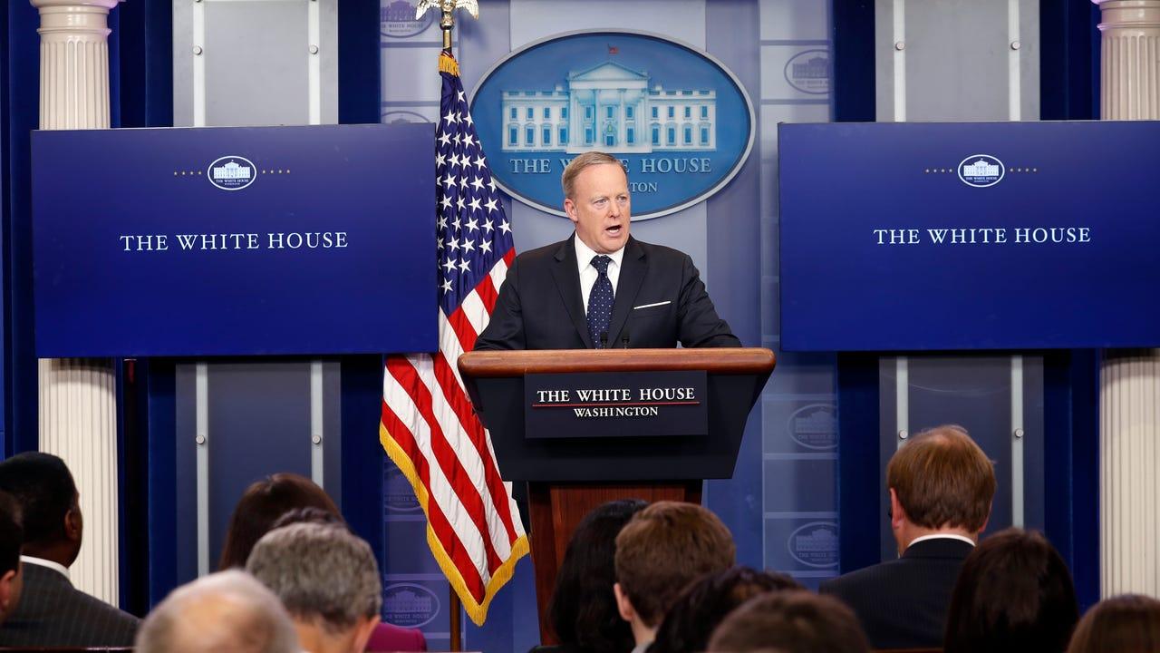 CNN sent a sketch artist to White House press briefing