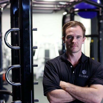 Matt Molnar, owner and trainer at Atlas Gym on Gaines