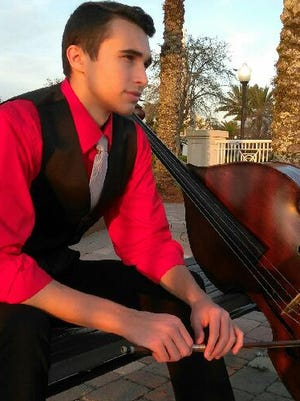 Congratulations to Shane Savage, the recipient of the 2018 Treasure Coast Youth Symphony Concerto Competition, receiving a cash prize and the opportunity to perform the Koussevitzky Double Bass Concerto while presenting Princess Dreams. Savage is 17 years old and lives in Port St. Lucie.  He performs on violin, cello, piano and other instruments.
