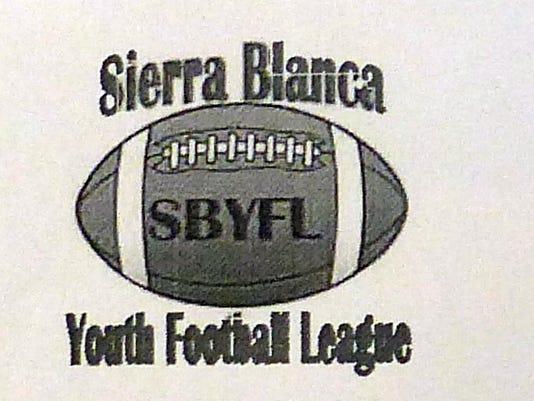 Sierra Blanca Youth Football League logo