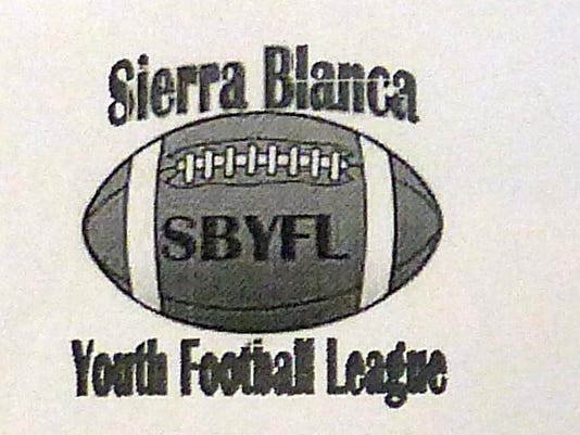 Sierra Blanca Youth Football League logo