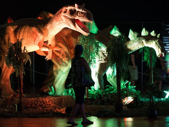 Discover the Dinosaurs at the American Bank Center,
