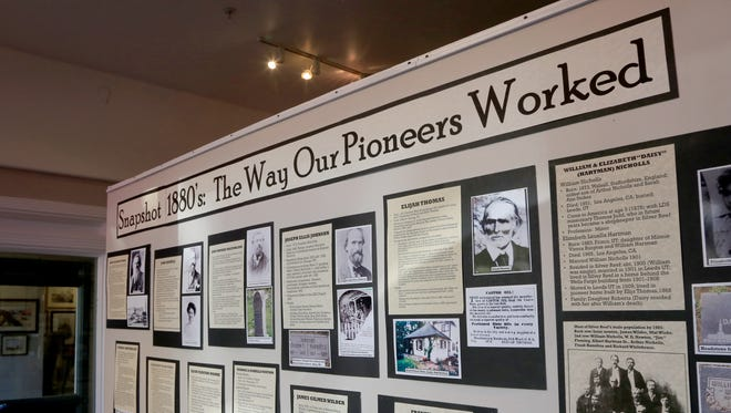 "The ""Snapshot 1880s: The Way Our Pioneers Worked"" exhibit at Gallery 35 in St. George will prepare the way for a Smithsonian exhibit at the Silver Reef Museum in 2017."