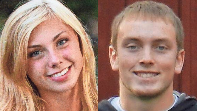 Kaylin Ellioff and Adam Cherek of Iola High School are this week's top scholars.