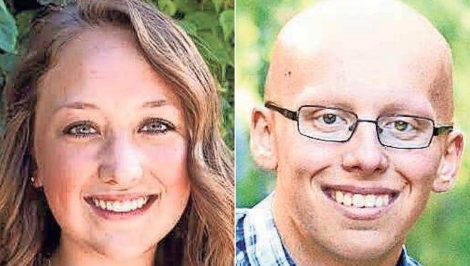 Maria Vanden Langenberg and Michael Mastalish of Winneconne High School are this week's top scholars.