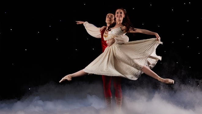 """Eugene Ballet will perform """"The Nutcracker"""" Dec. 22 and 23 at the Historic Elsinore Theatre."""