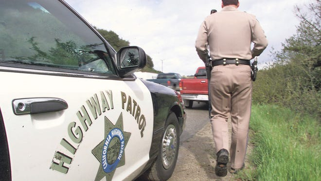 The California Highway Patrol responded to a collision on Interstate 10 Sunday.