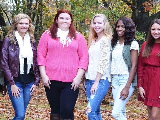 MSHS Homecoming Queen Candidates2