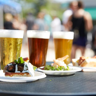 A chef prepares a dish at Shorts & Chefs during the Kohler Festival of Beer, which will take place Friday through Sunday.
