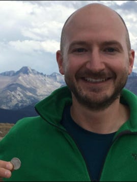 Brian Perri, 38, was reported missing after hiking in Rocky Mountain National Park.