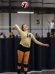 Franklin senior Brianna Merkel is the reigning Southeast Conference player of the year.