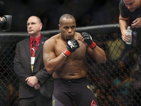 MMA: UFC 192-Cormier vs Gustafsson