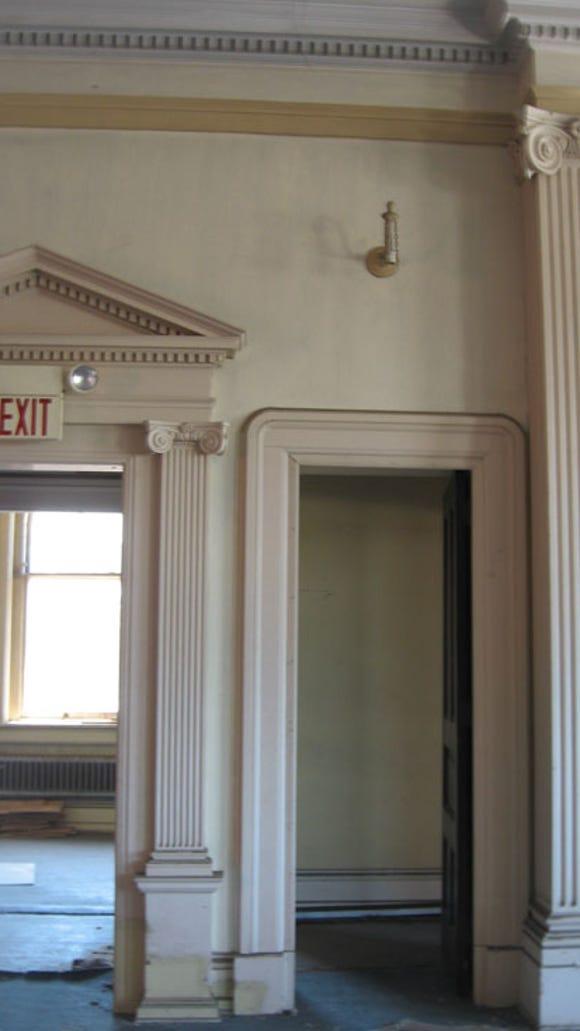 Second floor doors