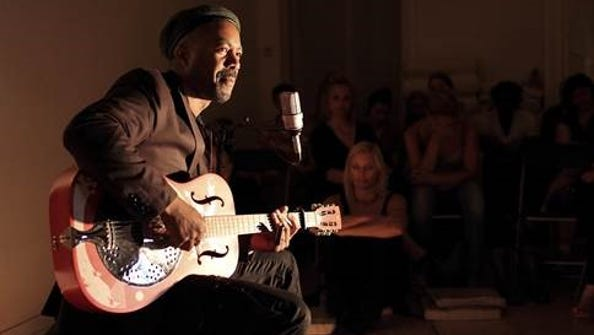 Creole singer and guitarist Pascal Danae performs Saturday
