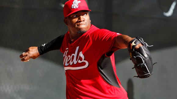 Jose Diaz allowed a run in four innings this spring after putting up a 1.66 ERA at Triple-A last year.