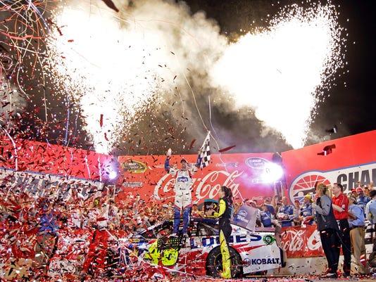 APTOPIX NASCAR Charlotte Auto Racing (2)