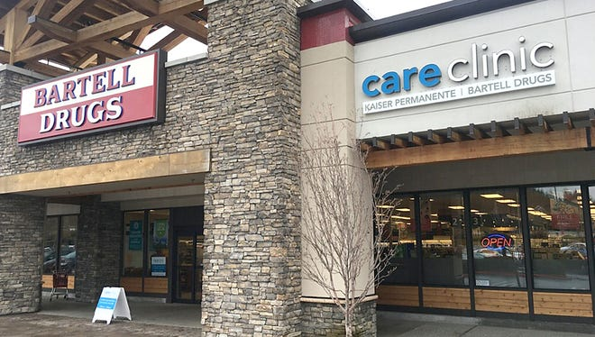 The Bartell Drugs location in Sammamish has a Kaiser Permanente clinic on site.