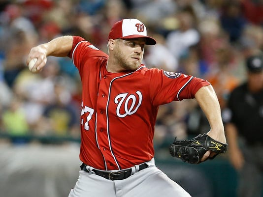 MLB: Spring Training-Washington Nationals at Atlanta Braves