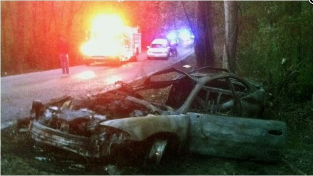 An Alcorn State student led campus police on a high speed chase that ended when he crashed his car into a tree. His passenger died.