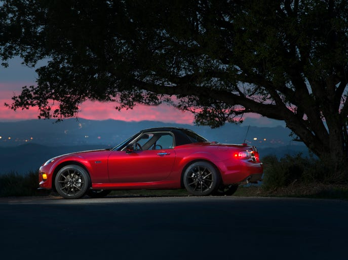 The Mazda MX-5 is celebrating its 25th anniversary.