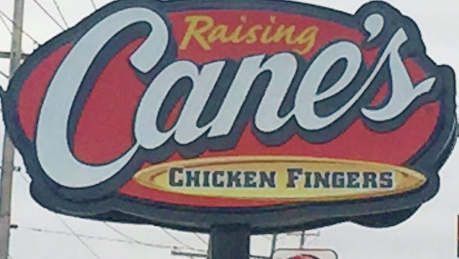 Raising Cane's Chicken Fingers is among the new businesses that will open in Green Township in 2018.