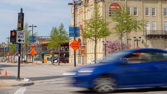 The conversion of the remainder of State Street to two-way traffic is being proposed to support redevelopment of the BMO Harris Bradley Center site and other downtown Milwaukee properties.