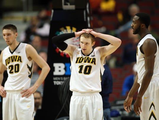 NCAA Basketball: Big Ten Conference Tournament-Penn State vs Iowa