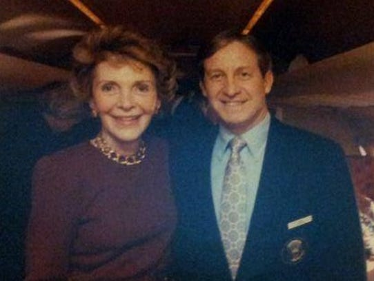 Jim Saddler got to know Nancy Reagan well. She liked