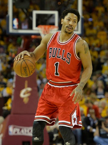 Derrick Rose had 25 points, five assists and five rebounds