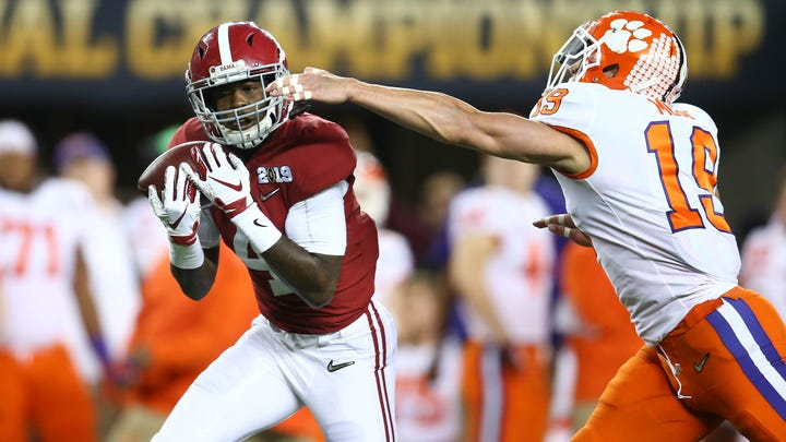 Alabama, Clemson dominate college football. You won't find their players on the Eagles