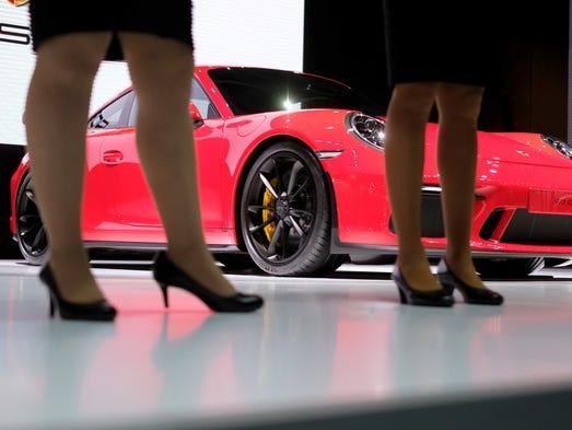 The Porsche 911 GT3.