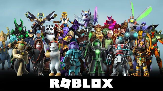 Roblox's avatars.