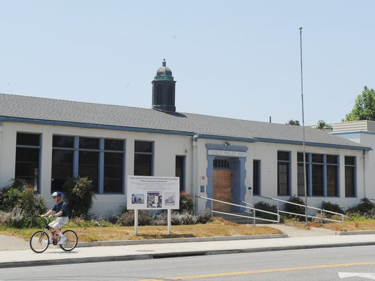 The vacant Timber School in Newbury Park, and an adjoining vacant auditorium — both historical landmarks — sit on a nearly 10-acre site which a real estate investment firm is trying to develop.The structures cannot be torn down.