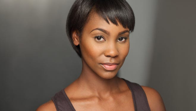 Joneice Abbott-Pratt, appearing in the Geva Theatre Center production of The Mountaintop, will be one of the guests at Stage Whispers: A Conversation with Theatre Professionals at The College at Brockport on Thursday, April 16, 2015, at 10 am. photo provided by the College at Brockport
