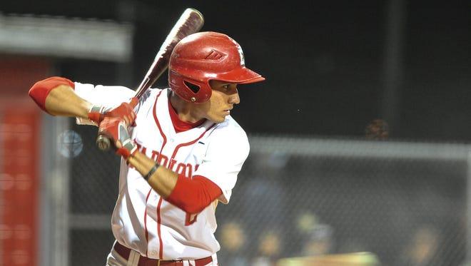 Alejandro Banegas is a member of the Asheville American Legion Post 70 baseball team.