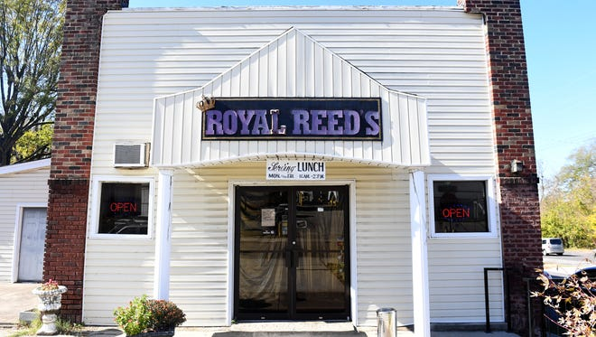 Royal Reed's, located at 507 N. Royal St., has been open for more than thirty years. The family-owned restaurant offers lunch from 11-2p, Monday through Friday.