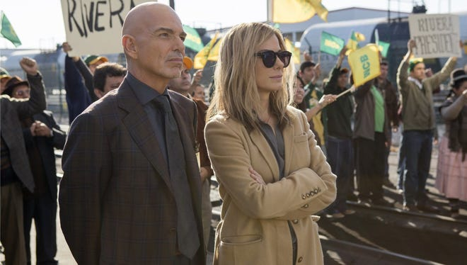 """Sandra Bullock and Billy Bob thornton play political rivals in the new drama """"Our Brand Is Crisis."""""""