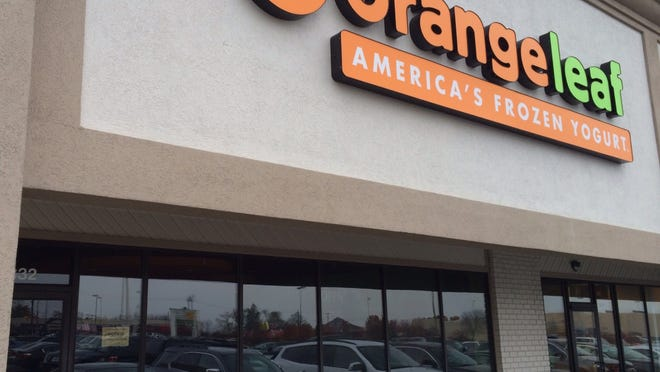 Orange Leaf will open within two weeks near Muncie Mall, its owner said.