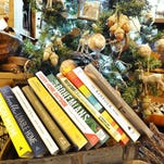 Homestyle holiday books cover at Haven decor store in Plymouth, Michigan on November 23, 2015. (Image by Daniel Mears/ Detroit News)