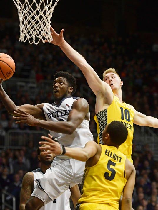 NCAA Basketball: Marquette at Butler