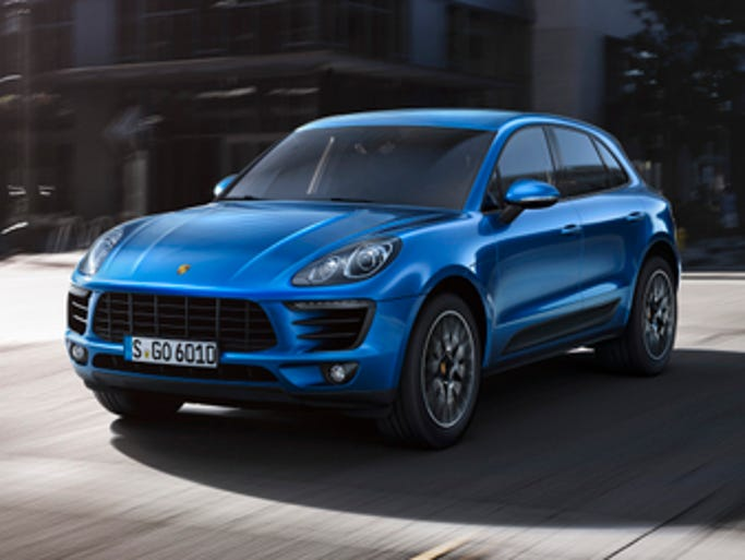 The coming 2015 Porsche Macan compact crossover SUV.