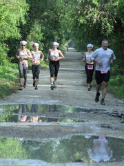 Natural conditions in the Everglades include mud. Over 150 runners raced through the Fakahatchee Strand State Preserve in the second annual Everglades Ultra challenge, running up to 50 miles.