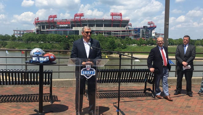 Butch Spyridon, president and CEO, Nashville Convention & Visitors Corp., was advocating for the NFL Draft to be in Nashville even before the league was taking bids from interested cities.