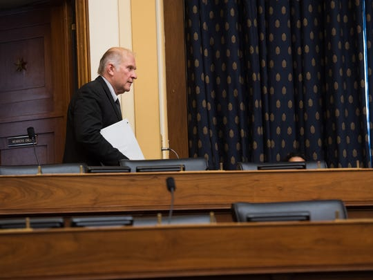 Rep. Steve Chabot arrives for a House Foreign Affairs