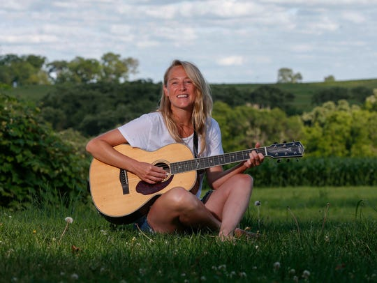 Lissie Maurus, a folk musician originally from the
