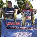 Bayou Outdoors Supercenter bass fishing from Saturday's opener on Cross Lake.