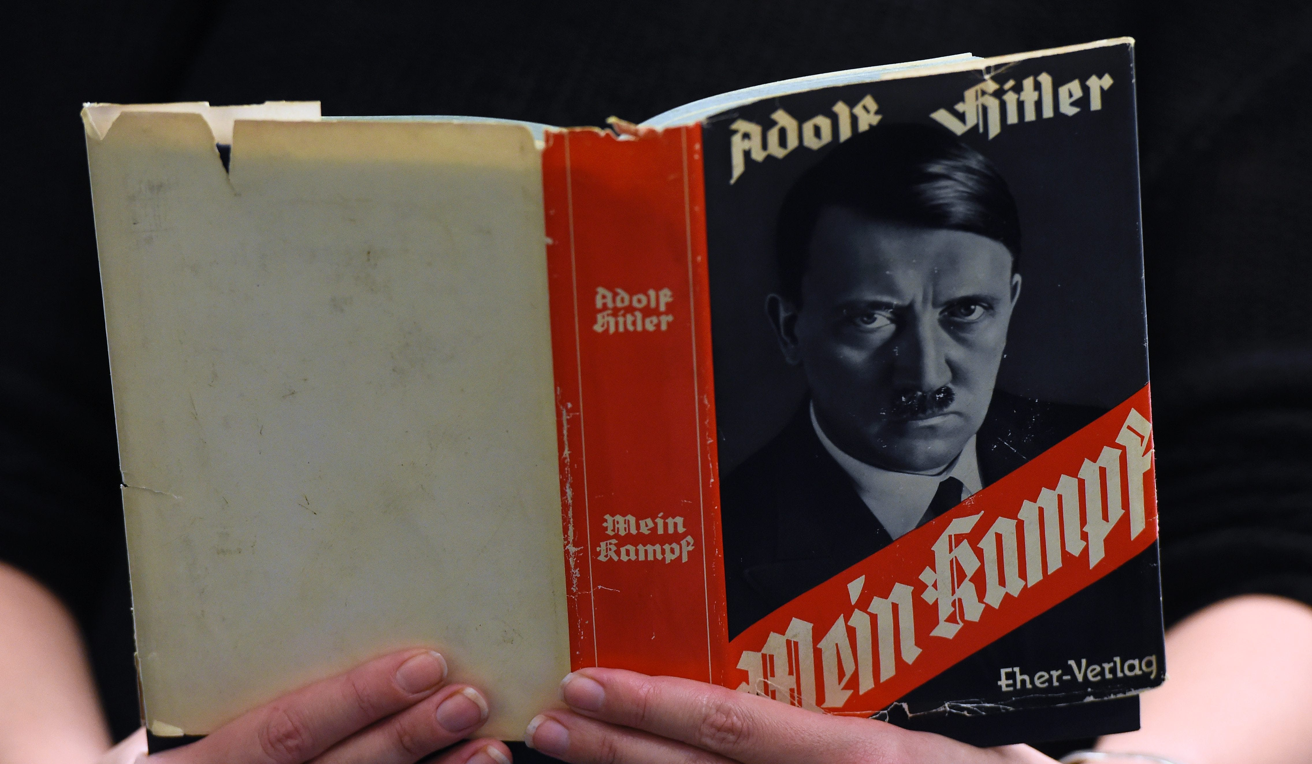The return of Mein Kampf to Hitler 100