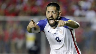 Clint Dempsey is now one goal shy of Landon Donovan's record with the U.S. men's national team.