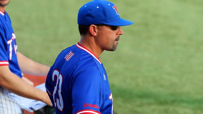 Louisiana Tech head baseball coach Lane Burroughs and the Bulldogs swept Southeastern Louisiana on Sunday.
