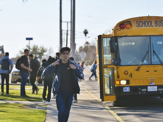 Tulare students walk home after a week of social media